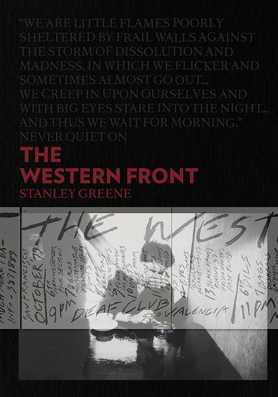 Couverture du livre The Western Front par Stanley Greene