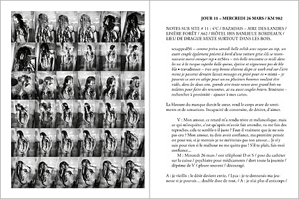 Double page de Index d'Antoine d'Agata